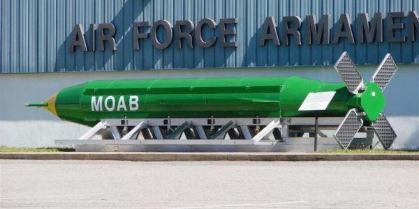 The Air Force Is Developing A Baby Version Of The 'Mother of All Bombs'