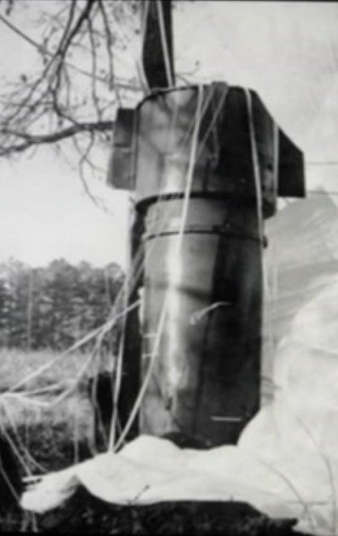 A Thermonuclear Bomb Slammed Into A North Carolina Farm In 1961. Part Of It Is Still Missing