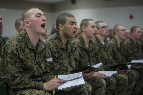 What Happened When These Marine Recruits Were Given A 'Choice' To Go To 'War'