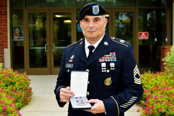 Soldier Who Saved Crash Victims Receives Highest Peacetime Award For Valor