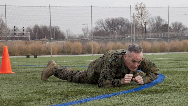 'Fighting Joe' Dunford Once Again Proves He's Fit AF By Crushing The Boston Marathon