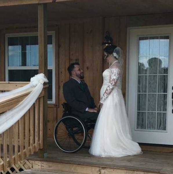 This Veteran Couple Married Against The Odds — And Their First Dance Was Nothing Short Of A Miracle