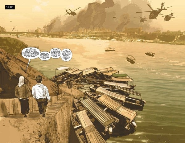 Meet The Ex-CIA Agent Who Served In Iraq And Writes Batman Comics Now