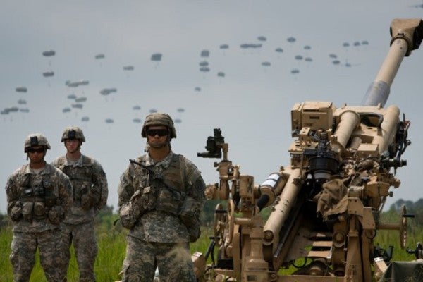US Launches Largest Airborne Drills Since The Cold War