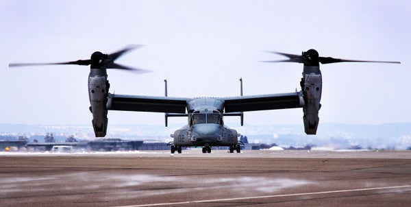 Years After Troubling Report, Osprey Readiness Remains A Challenge