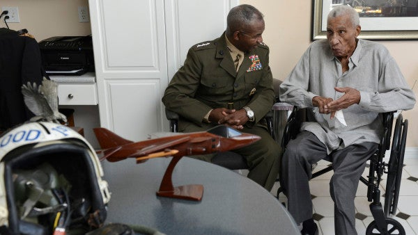 The Obituary For America's First Black Marine General Will Give You Chills