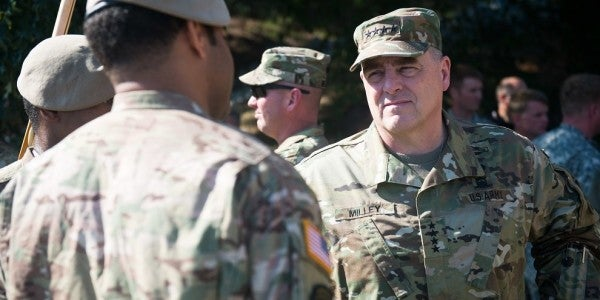 The Army's Number One Priority Is Ground Combat, Says New Chief Of Staff