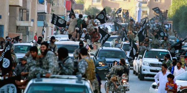 An Inside Look At The Islamic State's Powerful Arsenal