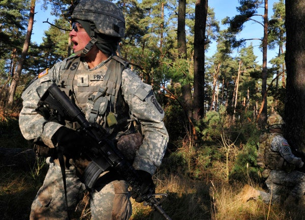 Servicewomen Don't Lean In; They Step Up