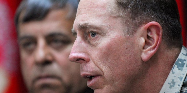 Petraeus Calls For Greater Military Action In Iraq And Syria