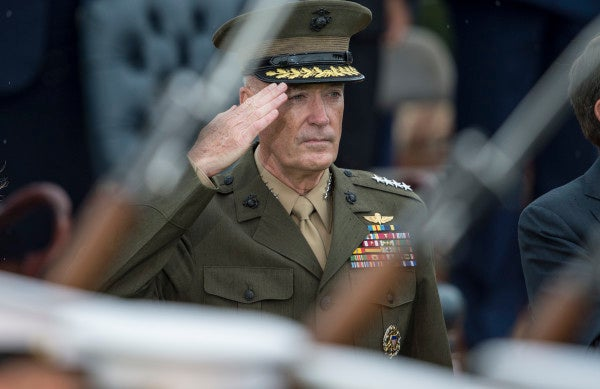 Dunford Deserves Credit For Sticking To His Guns On Women In Combat