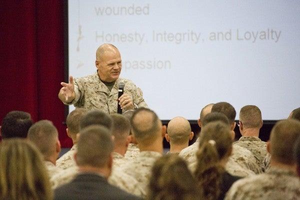 """Top Marine: """"Women In Combat Is Nothing New"""""""