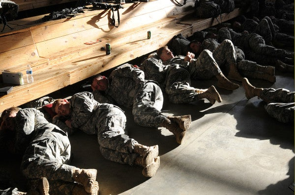 Report: Insomnia Is A 'Hidden Wound' For US Troops