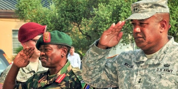 General Of US Army Africa Outlines New Strategy