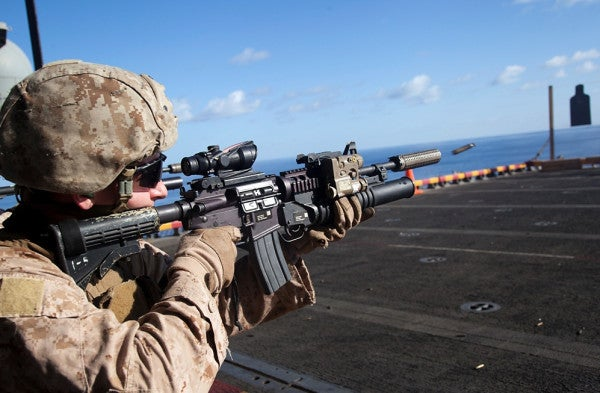 M4 Approved As Standard Weapon For Marine Infantry