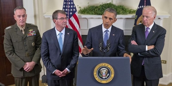 President Considers Moving Troops Closer To Front Lines In Syria, Iraq