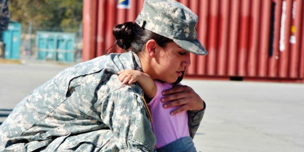 The Challenges Of Transitioning From Soldier To Full-Time Mom