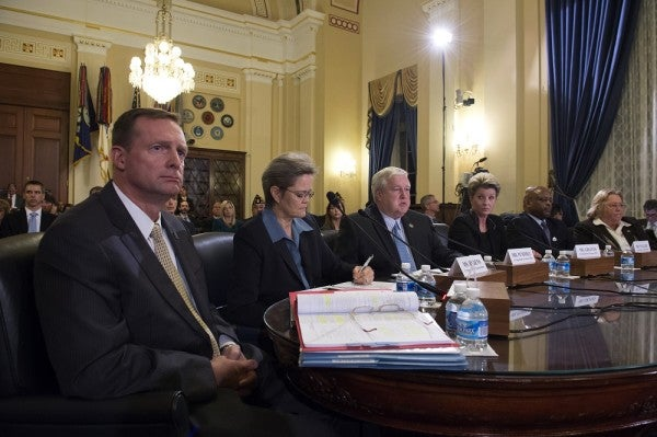 VA Officials Refuse To Answer Questions On Relocation Scandal