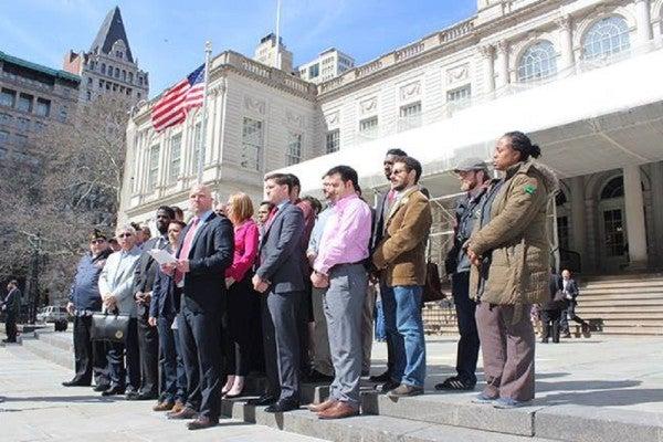 New York City Mayor Reverses Opposition On Veterans Department Bill