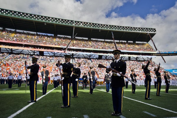 Paid Patriotism At Sporting Events Sparks Resentment