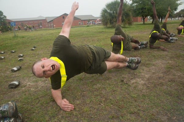 Marine Corps Fitness Standards Under Evaluation