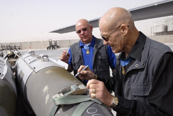 America's Tradition Of Writing 'Love Notes' On The Sides Of Bombs