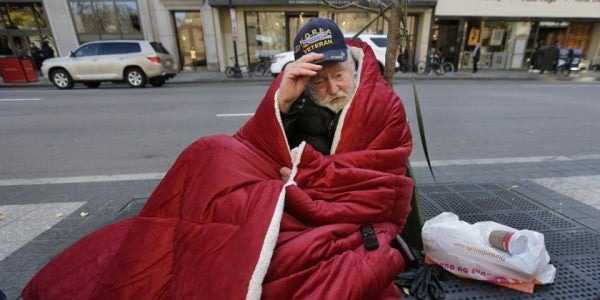 Homelessness On The Decline, Especially Among Vets