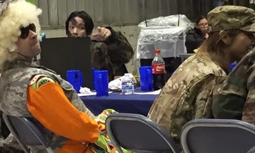 Service Members And Families Enjoy Night Of 'Combat Dining Out'