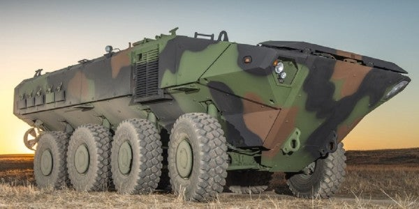 SAIC, BAE Systems Receive Contracts For Corps' New Amphibious Vehicle Prototypes