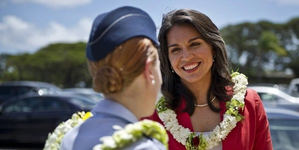 Tulsi Gabbard: 'Defeating ISIS Has Nothing To Do With Party Politics'