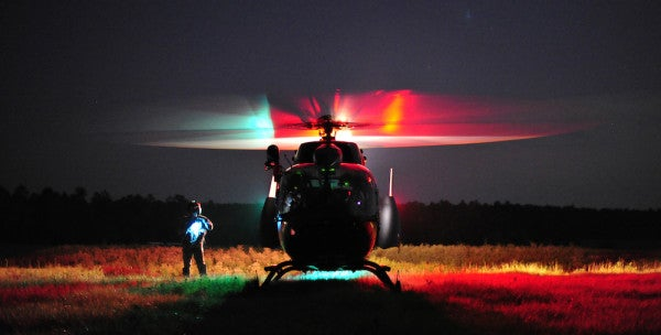 Study Finds Airlifting Casualties May Be Detrimental To Brain Injuries