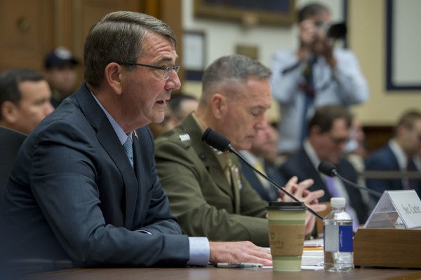 SecDef: 'We're At War' With The Islamic State