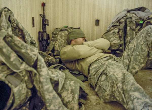 For Some Service Members, Insomnia May Not Be Part Of PTSD