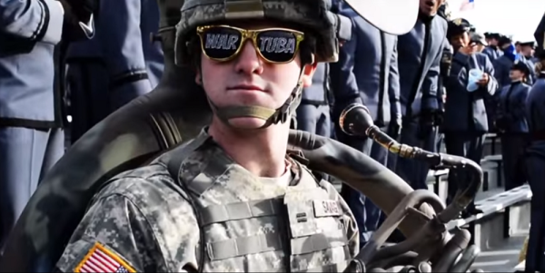 Army Sends In The 'War Tubas' To Crush Navy Spirit In New Video