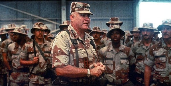 Schwarzkopf's Life Advice On Making Friends And Fighting Wars