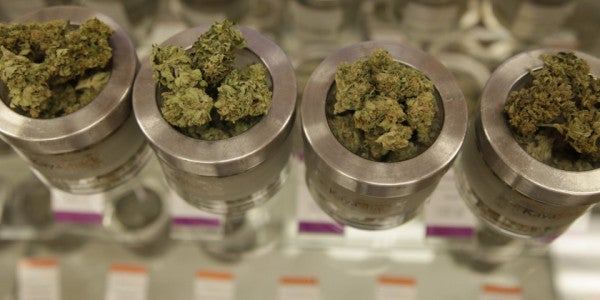 Vets Using Marijuana Medicinally Head To States Where It's Legal