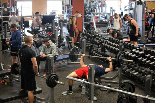 A Marine Corps Vet Reflects On His Favorite Military Gyms