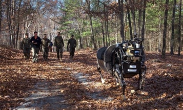 Marine Corps Sends Robotic Mule To The Glue Factory