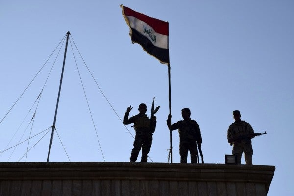 Iraqi Army Is Finally Gaining Ground Against ISIS In Ramadi