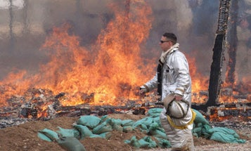 Despite Health Concerns, The Military Still Uses Burn Pits