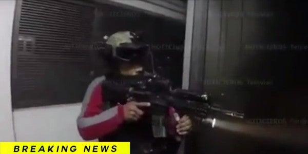 Watch Mexican Marines Raid El Chapo's Secret Hideout