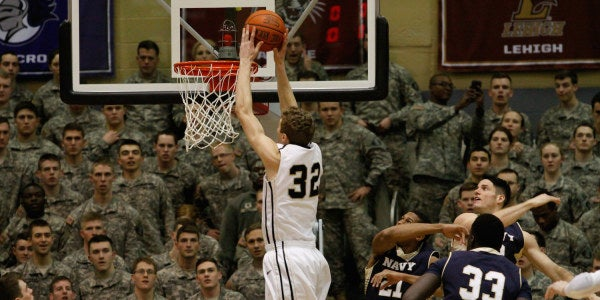 Army And Navy Basketball Set To Square Off Under The Big Lights In Madison Square Garden