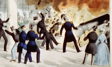 That Time A Cannon Blew Up And Decapitated A Navy Secretary
