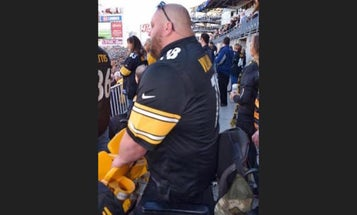 The Story Behind The Double-Amputee Veteran Who 'Stood' For The National Anthem