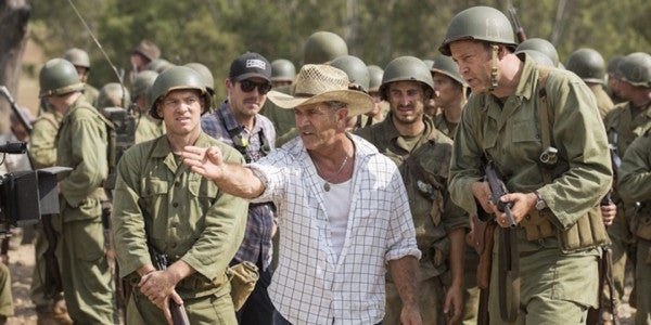 Mel Gibson Talks About Directing 'Hacksaw Ridge,' His First Film In 10 Years