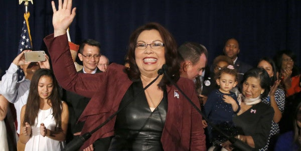 12 Years After Losing Her Legs In Helicopter Crash, Tammy Duckworth Is A Senator