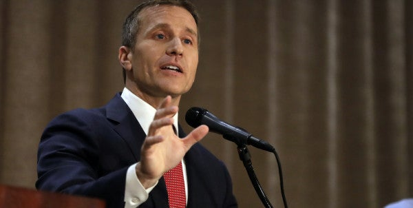 Here's What The New Missouri Governor, A Navy SEAL, Told A Buddy Struggling With PTSD