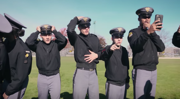 West Point Cadets Take On The Mannequin Challenge With Hilarious Results