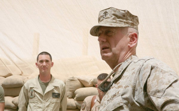 It Looks Like We Won't Be Seeing Mattis In The Trump Administration