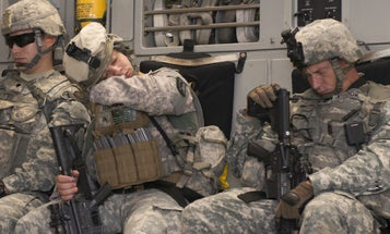 Soldiers Aren't Getting Enough Sleep And That's A Big Problem